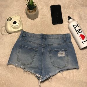A nice casual ripped denim short